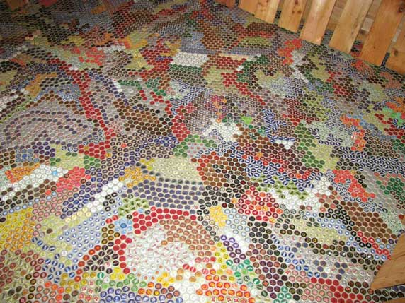 bottle-cap-floor