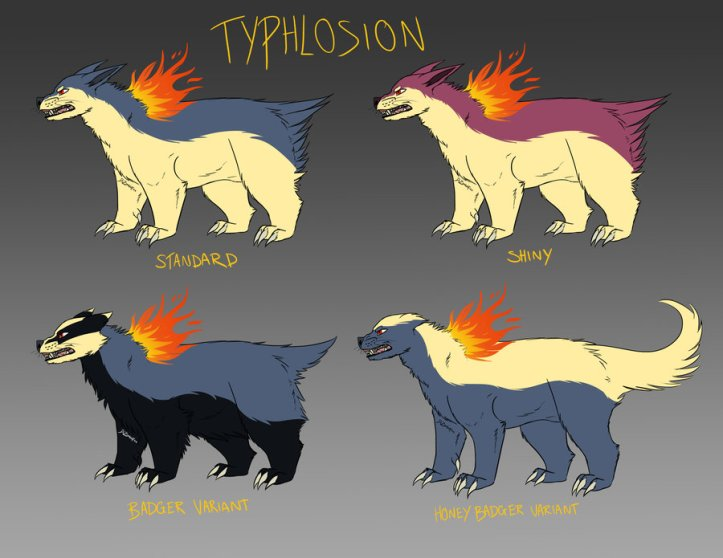 typhlosion_variants_by_drzombiefox-d8pu5t0